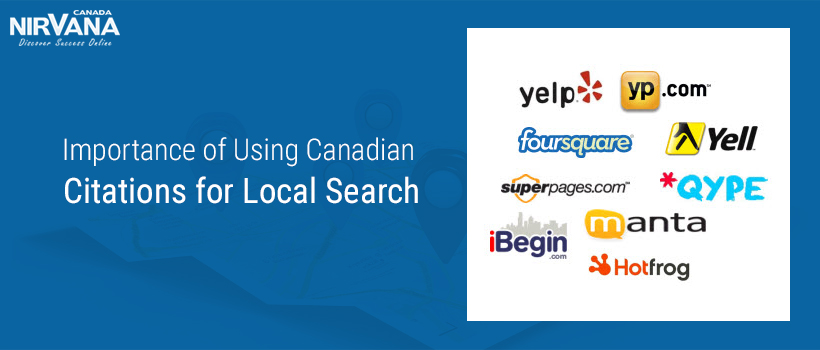 Canadian Citations for Local Search